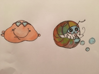 SUPER cute animals Blob and Roly - image 1 - student project