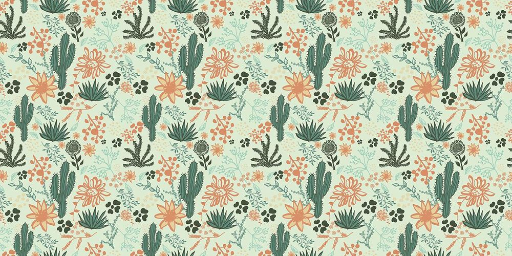 Foliage Repeat Pattern - image 2 - student project