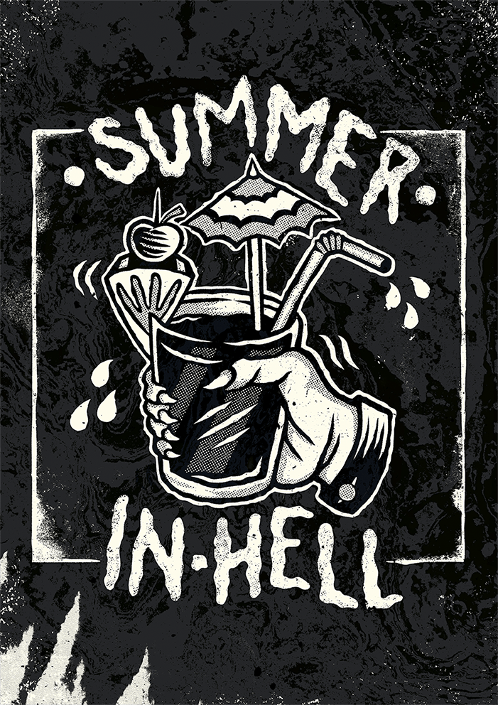 SUMMER IN HELL - image 5 - student project