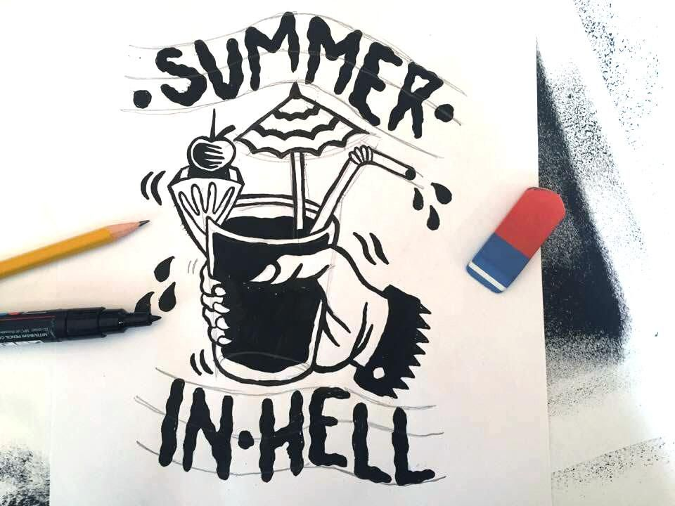 SUMMER IN HELL - image 4 - student project