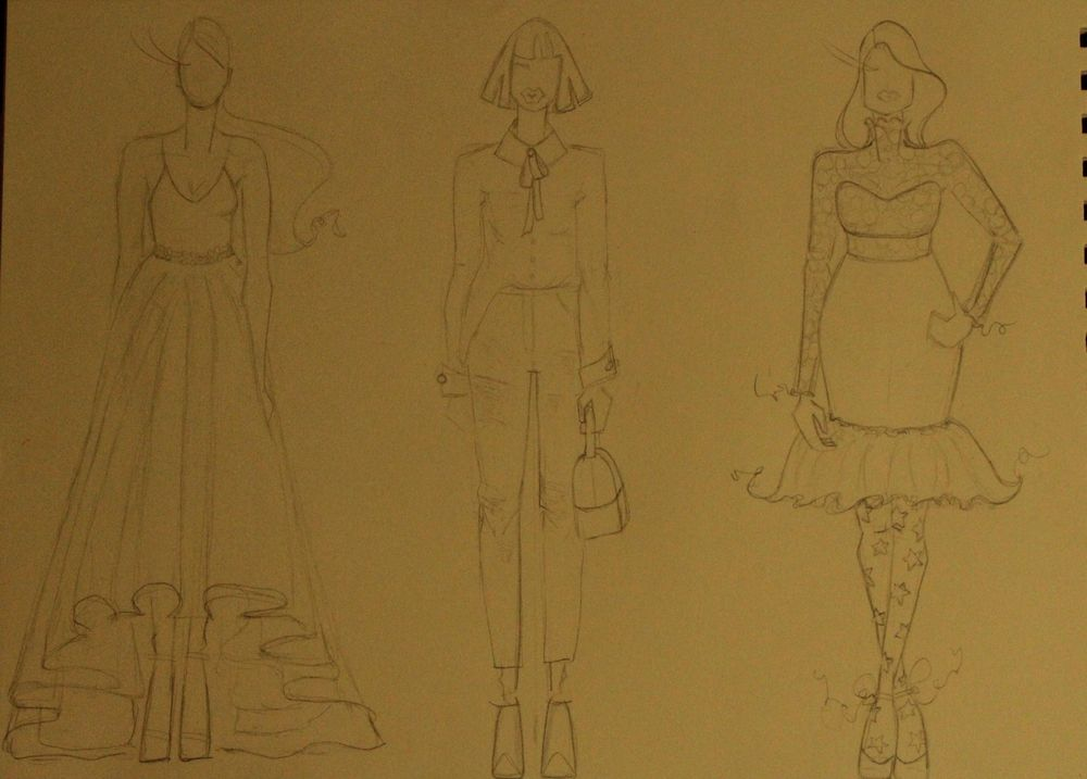 The First Steps of Fashion Design Project - image 3 - student project