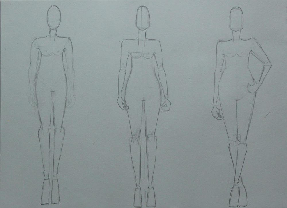 The First Steps of Fashion Design Project - image 2 - student project