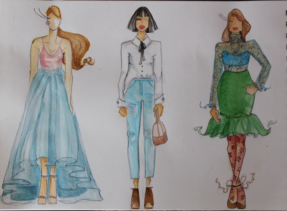 The First Steps of Fashion Design Project - image 4 - student project