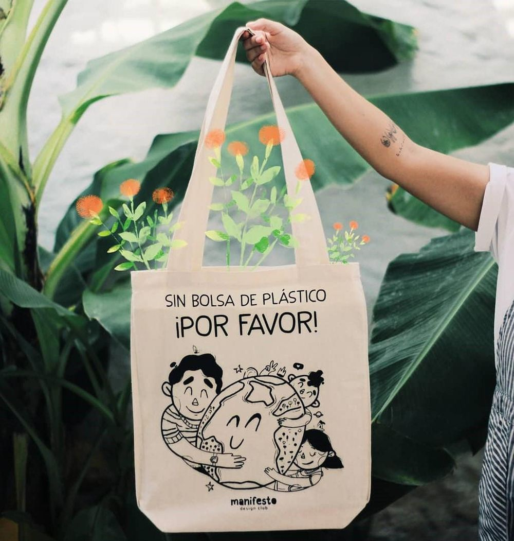 Tote bag. - image 2 - student project