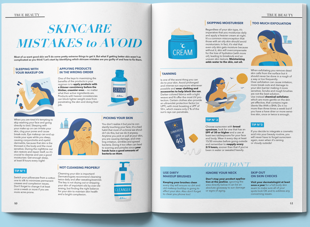 Skincare Mistakes to Avoid - image 3 - student project