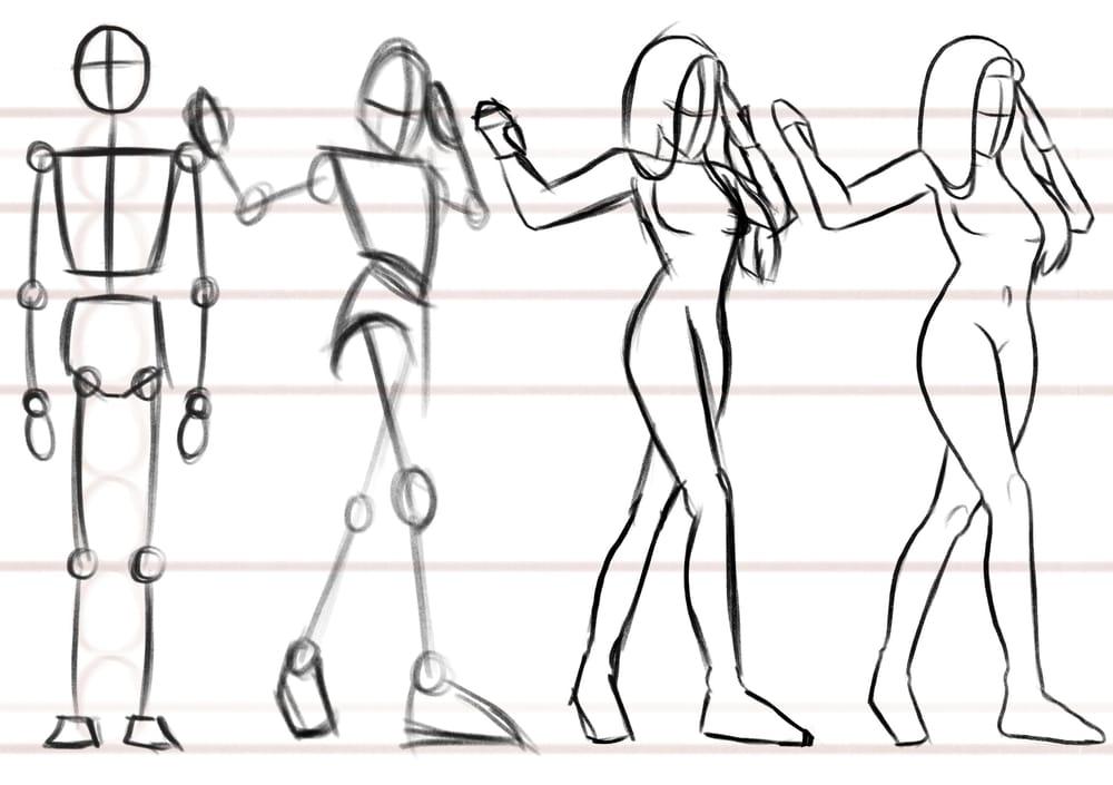 Female body anatomy. - image 3 - student project