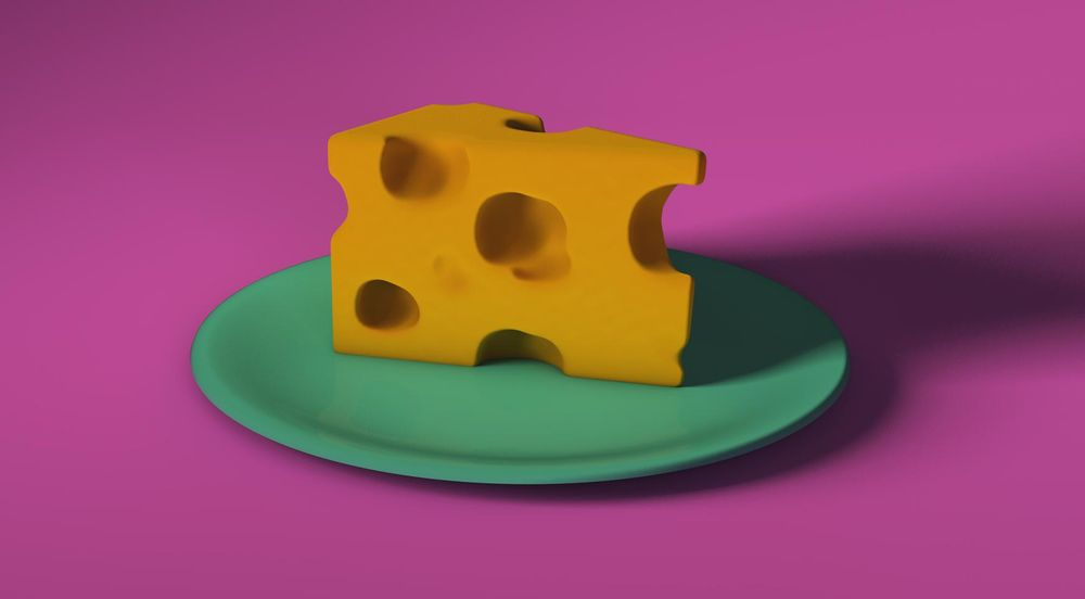 Spining cheese plate - image 1 - student project