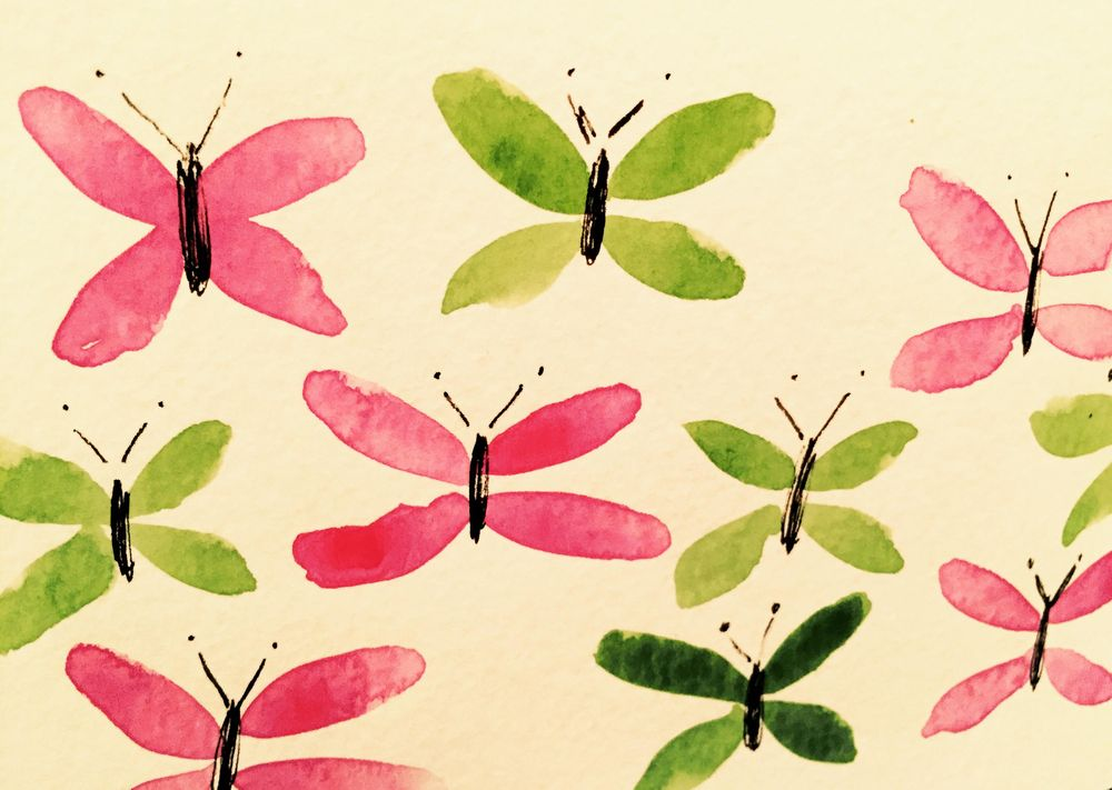 Butterflies - image 1 - student project