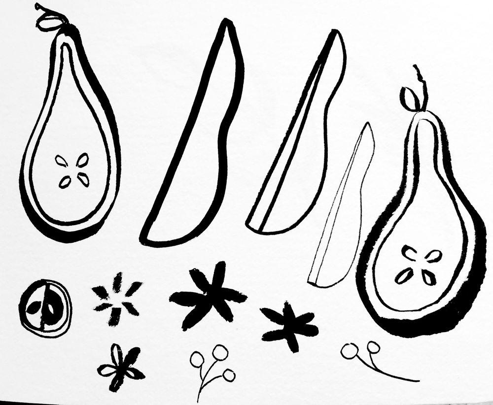 Pears Pattern - image 3 - student project