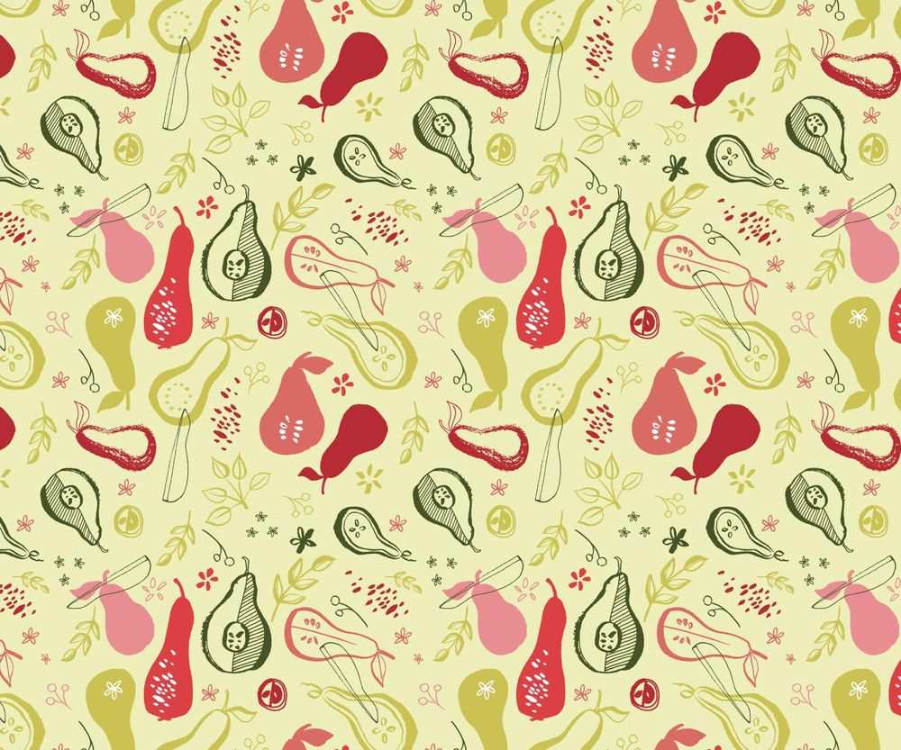 Pears Pattern - image 10 - student project