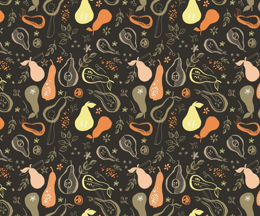 Pears Pattern - image 6 - student project