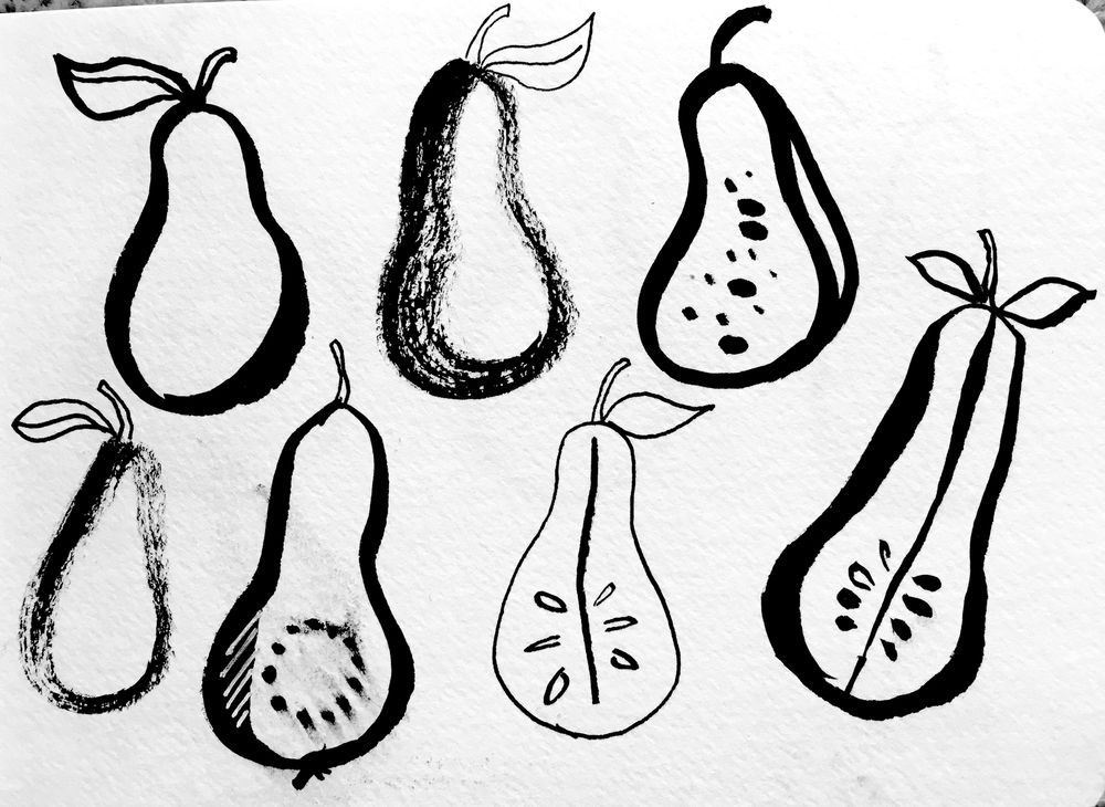 Pears Pattern - image 2 - student project