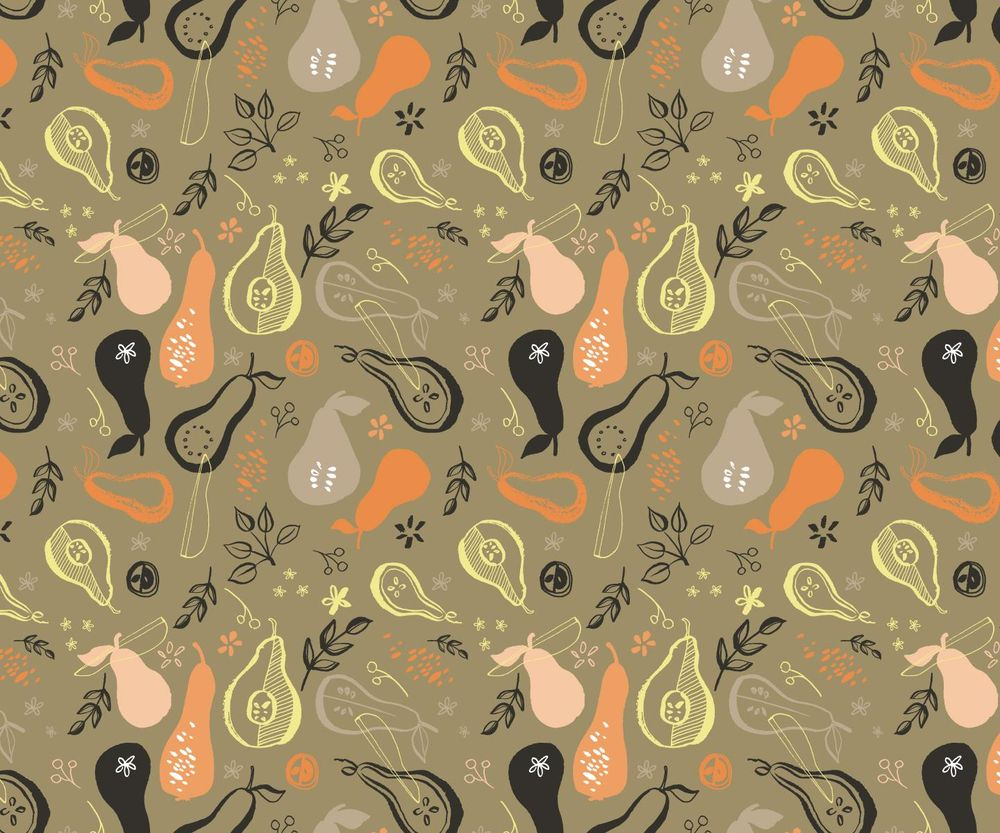 Pears Pattern - image 8 - student project