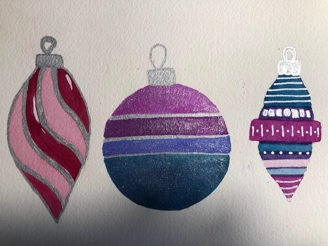Ornaments - image 1 - student project