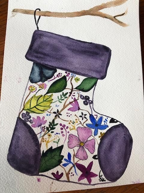 Holiday Stocking - image 1 - student project