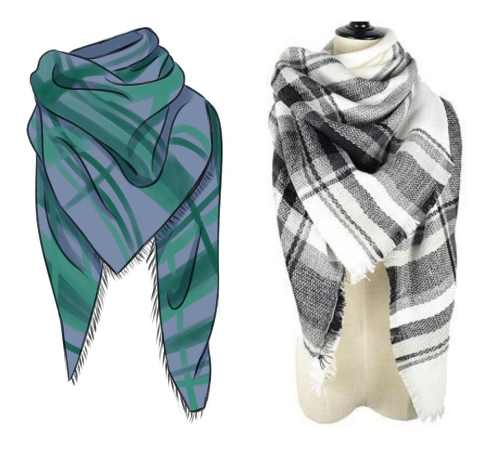 Some scarfs - image 2 - student project
