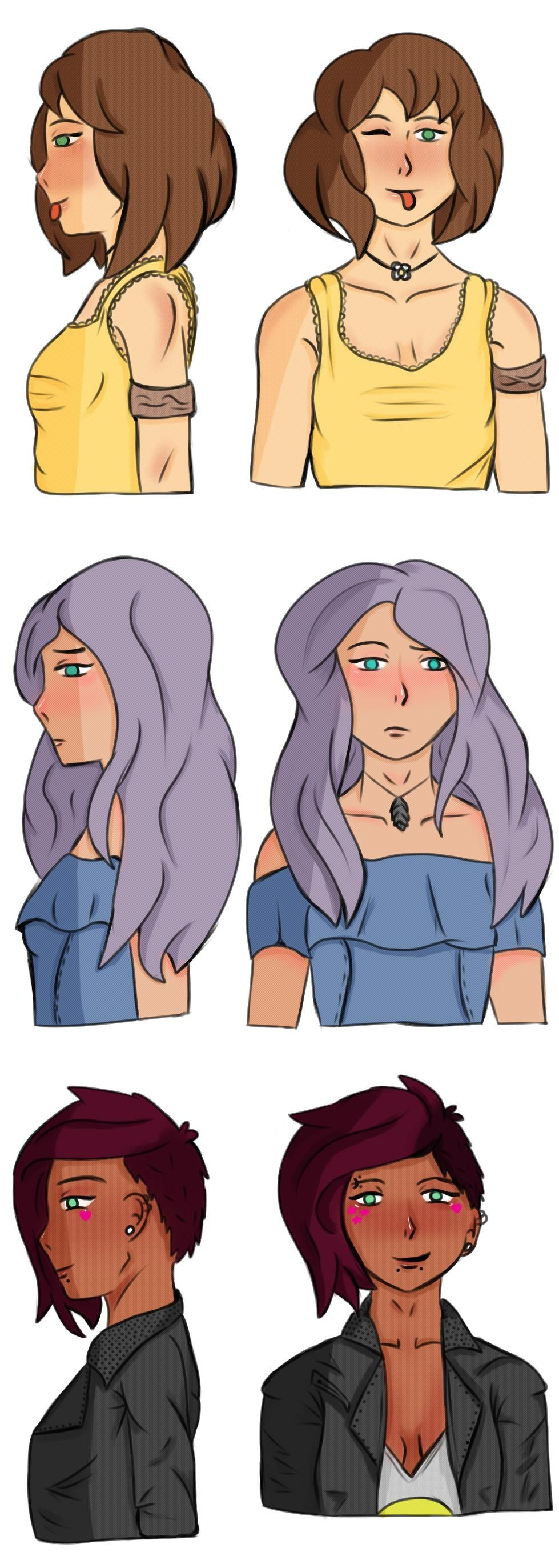 Some Hairstyles - image 5 - student project