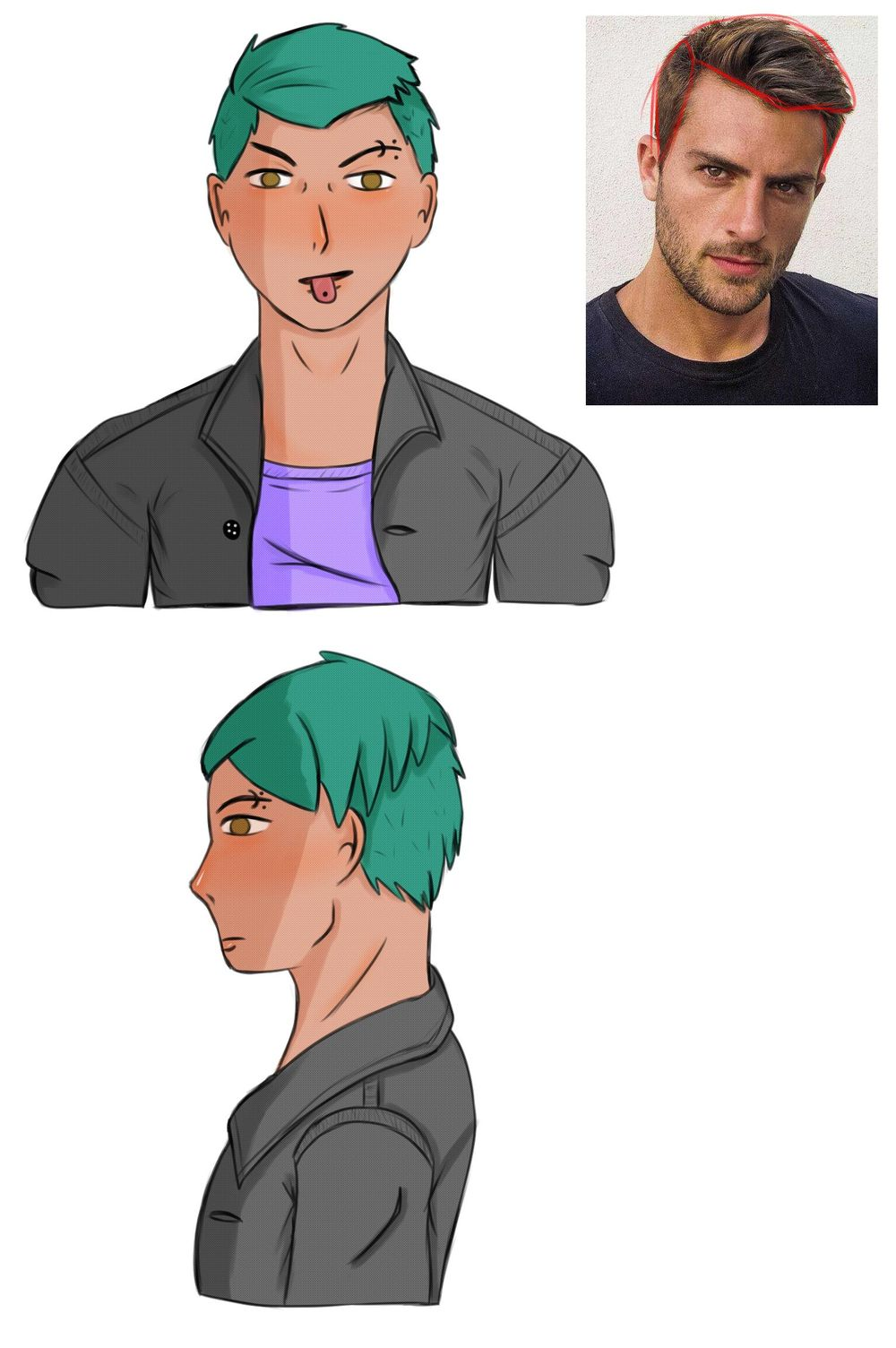 Some Hairstyles - image 3 - student project