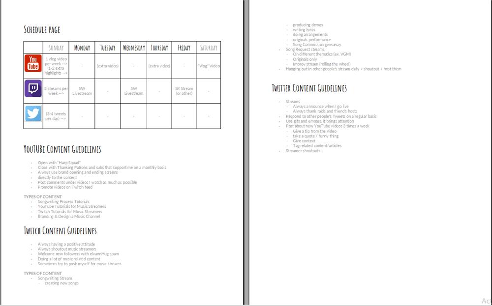 Elvann's SM Content Strategy JAN - MAR 2018 - image 2 - student project