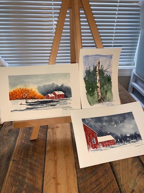 Delicate Winter Landscape - image 1 - student project
