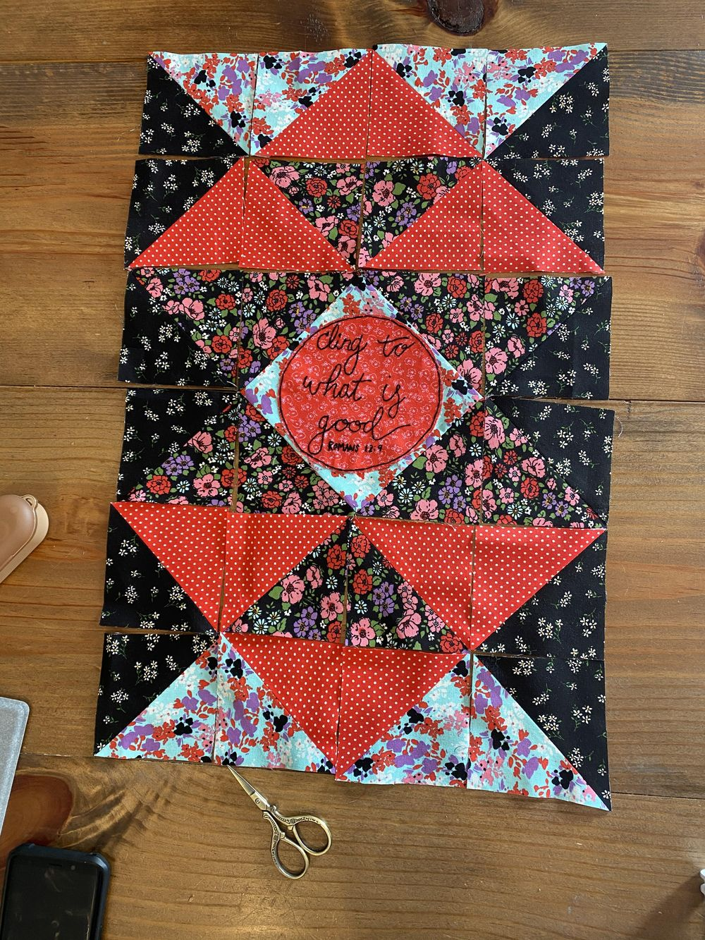 First quilting project - image 1 - student project