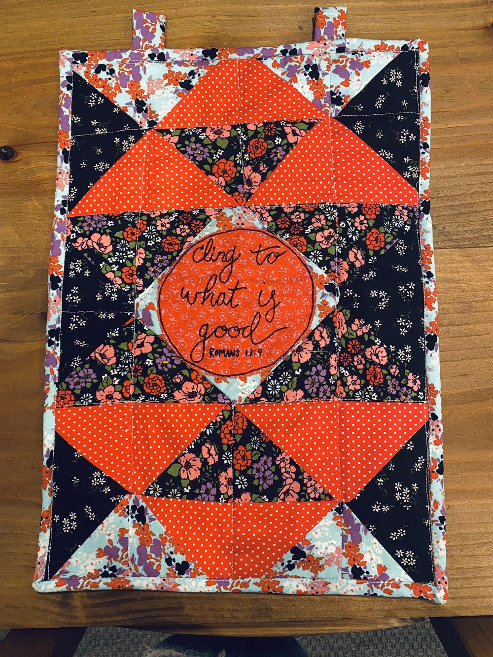First quilting project - image 2 - student project