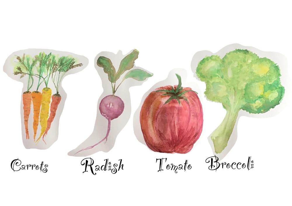 Bianca's veggies - image 1 - student project