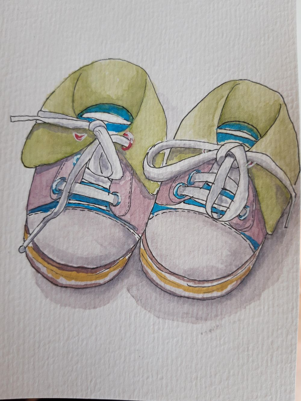 Bianca's Baby shoe - image 1 - student project