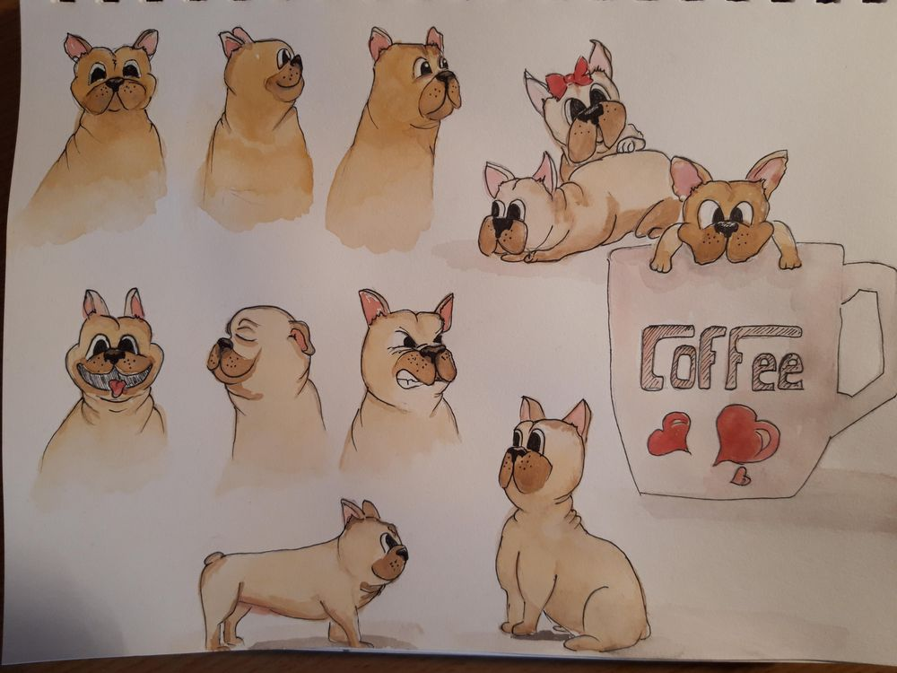 My funny dog - image 1 - student project