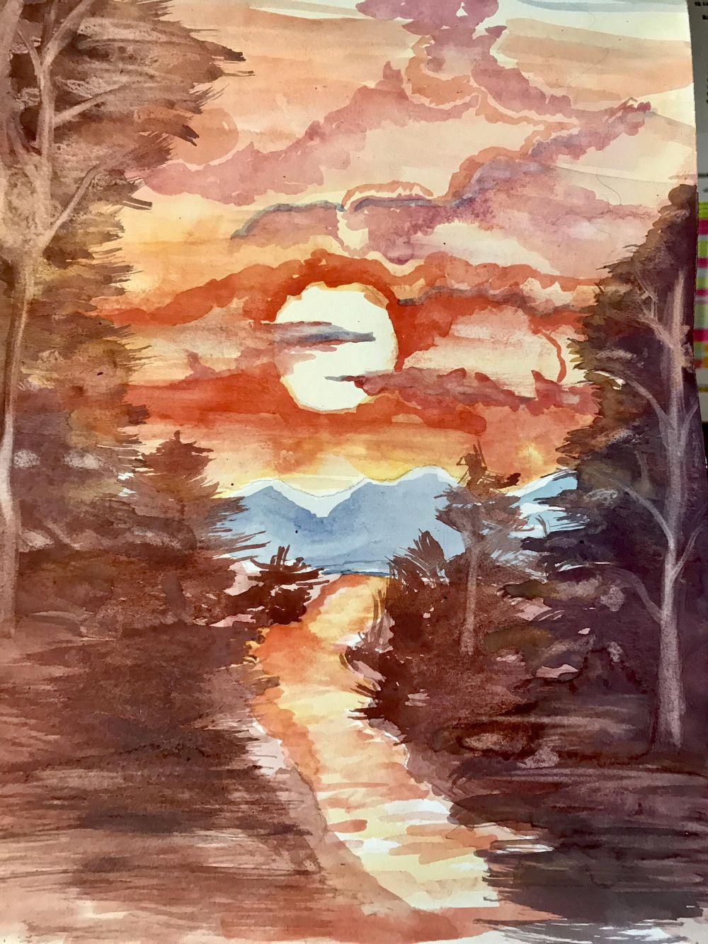 bIANCA'S SUNSET - image 1 - student project