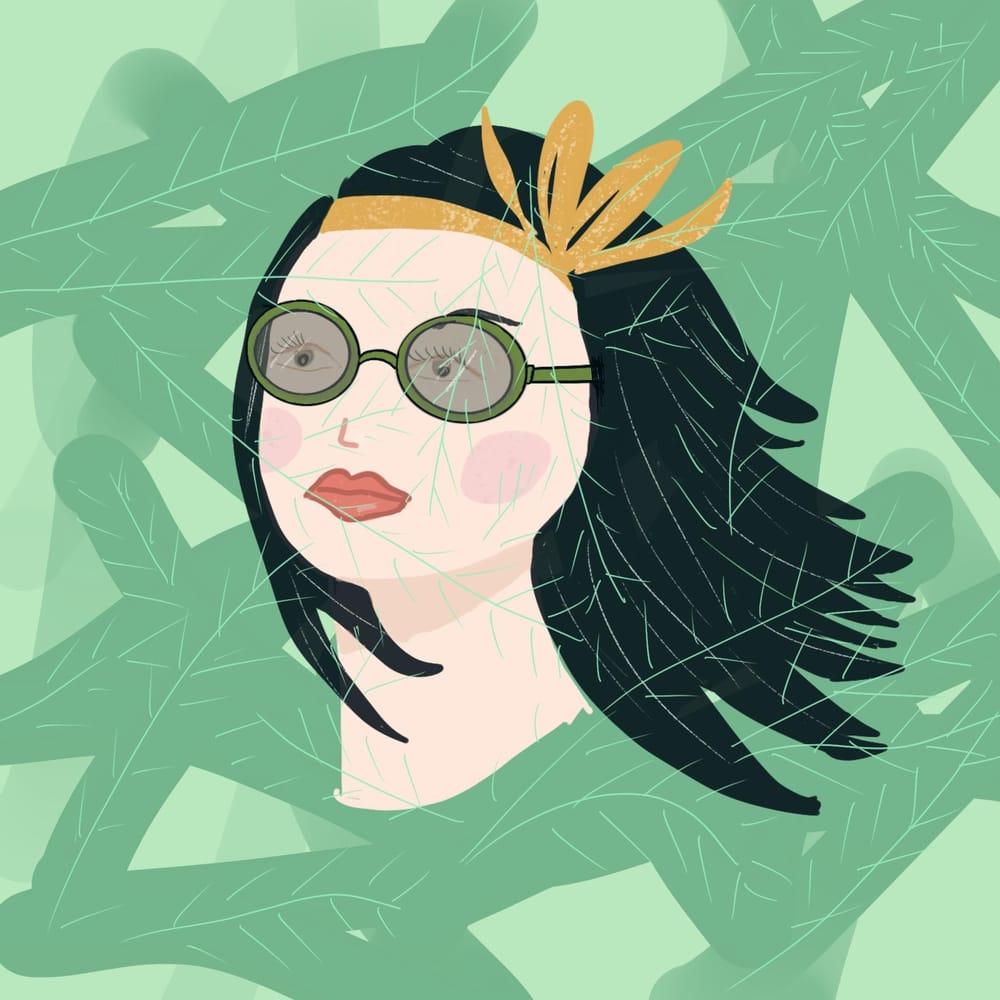 Botanical girl - image 1 - student project