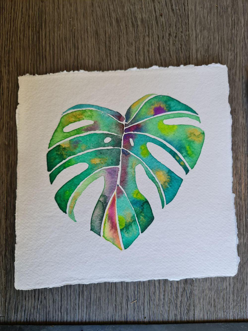 Modern watercolour botanicals - image 1 - student project