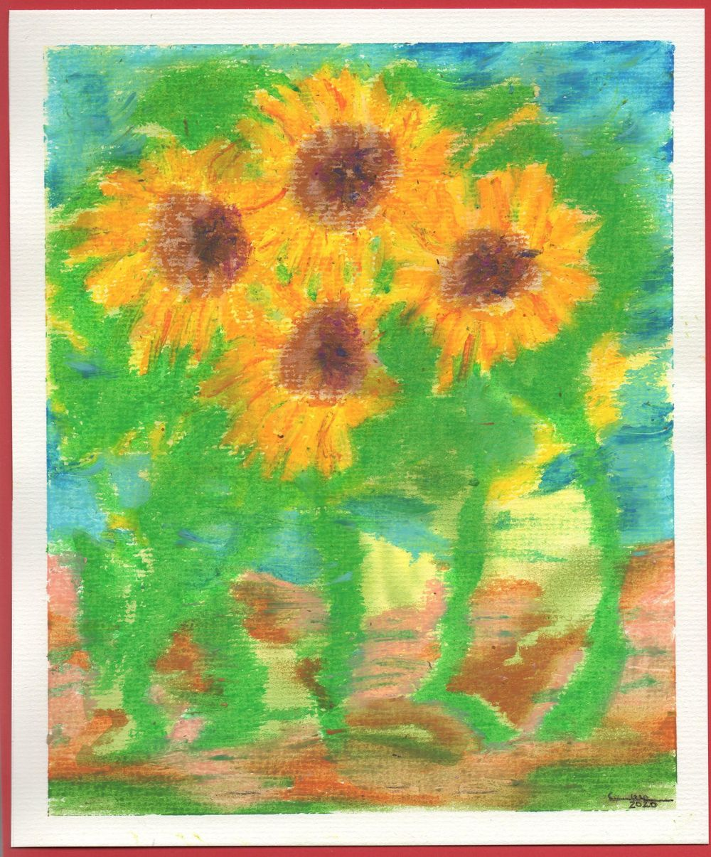 Oil Pastel & Watercolor - image 1 - student project