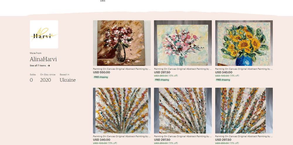 Selling Artwork On Etsy. Listing Project - image 1 - student project