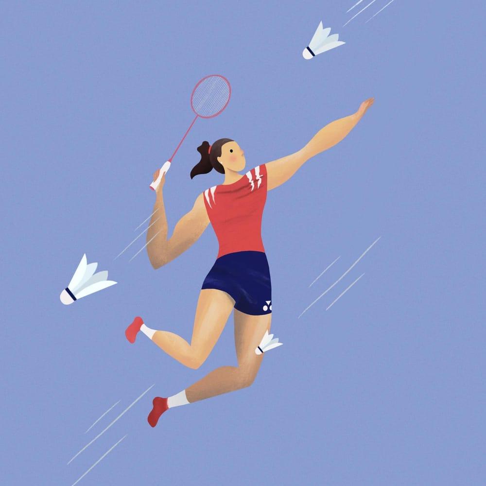 Badminton Smash - image 1 - student project