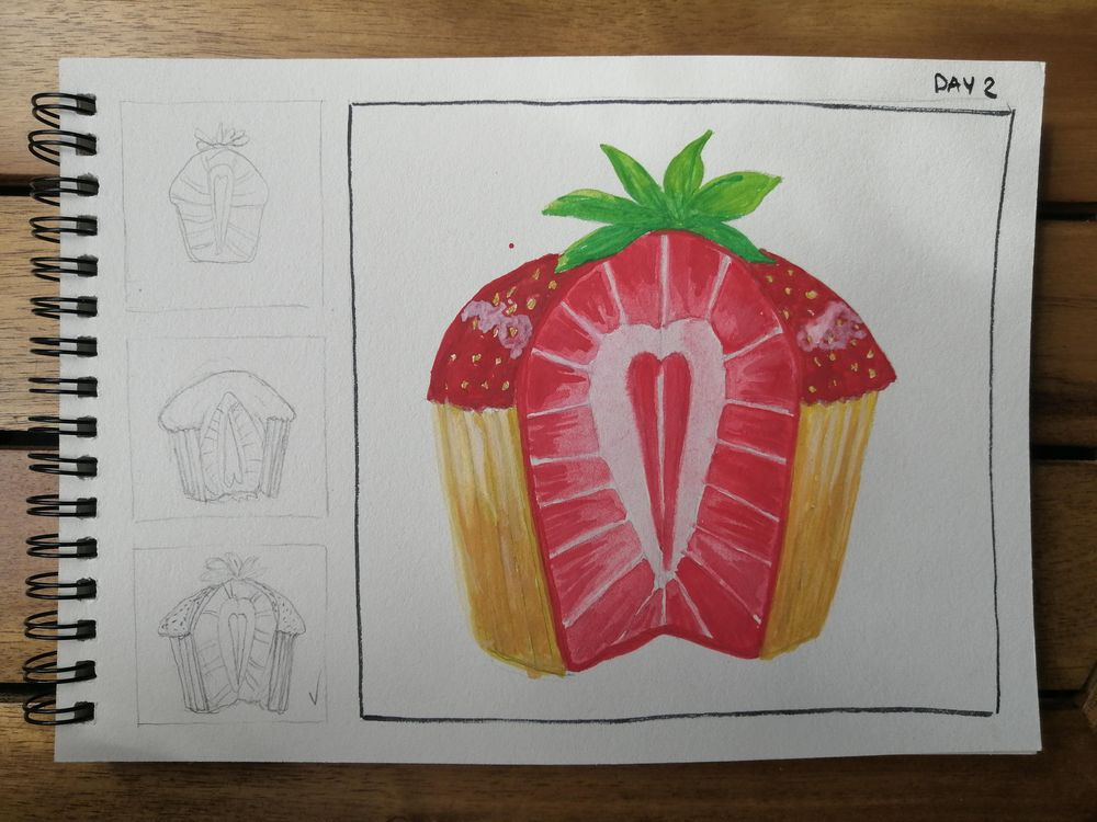 Watercolor for Breakfast - image 2 - student project