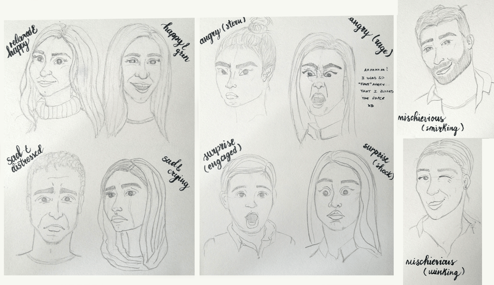 Facial Expressions with Annie! - image 1 - student project