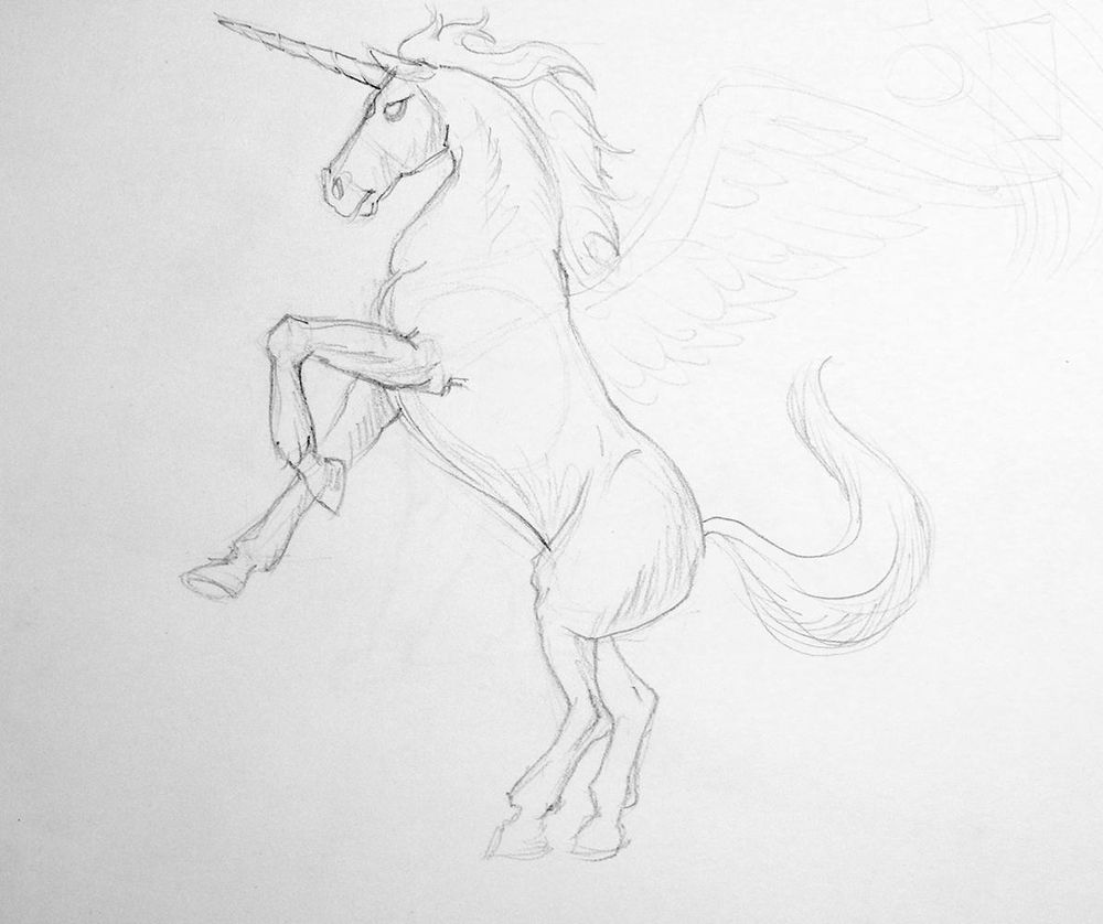 Freehand drawings - 12 to 15 minutes - image 1 - student project
