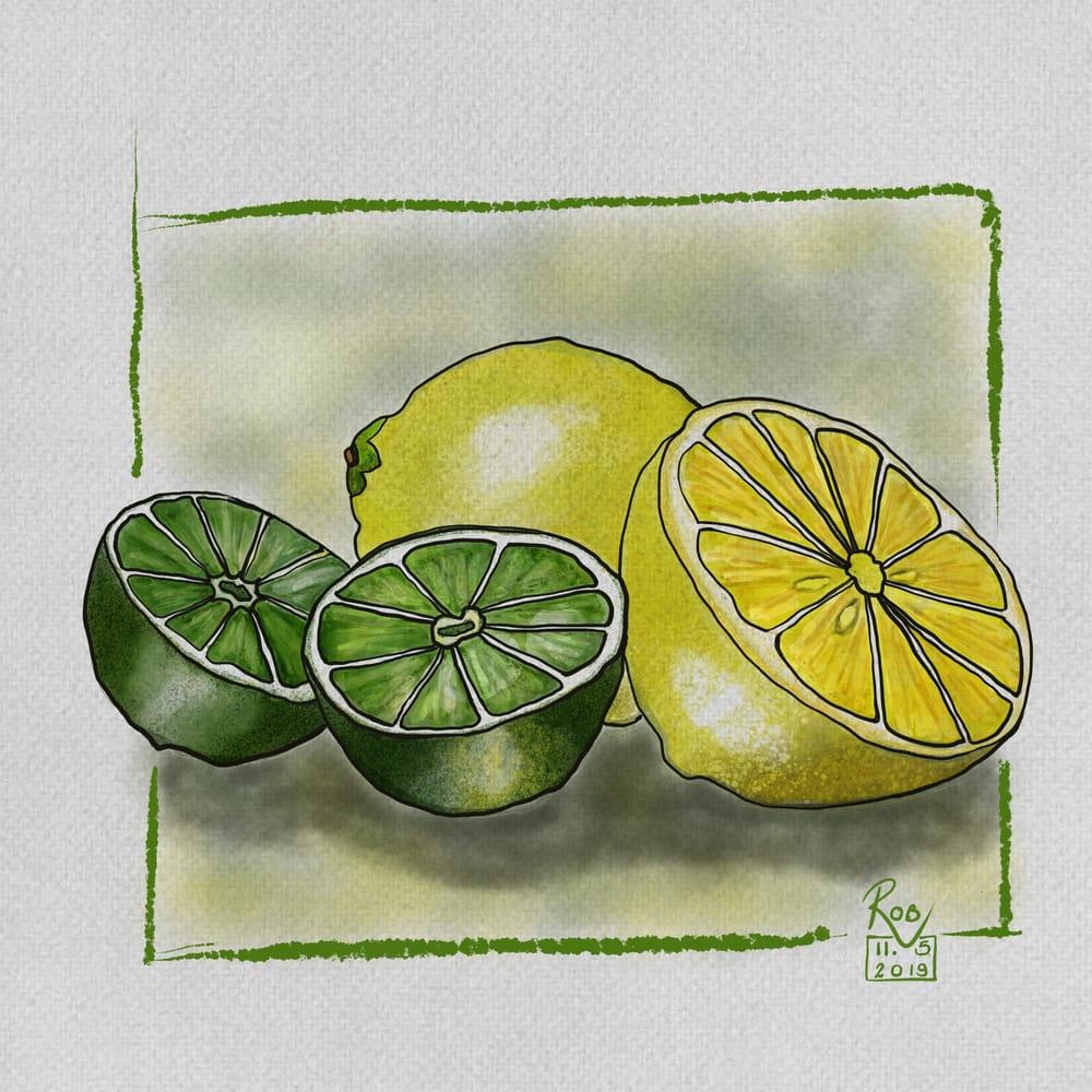 Watercolour Fruit #1 - image 3 - student project