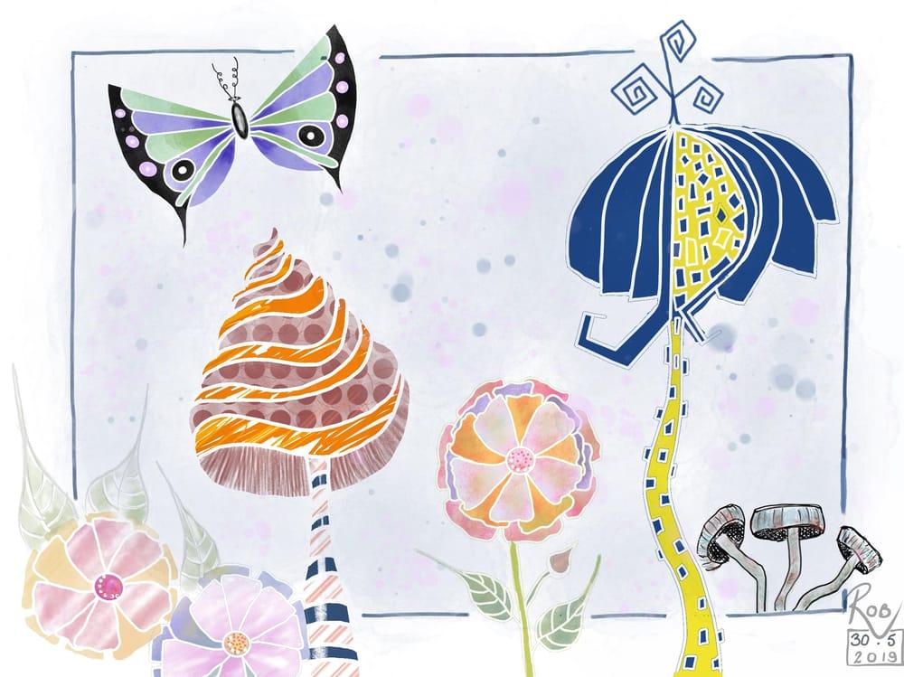 Doodles to Digital Design - image 1 - student project