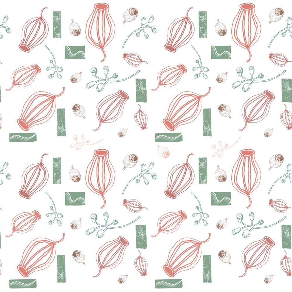 Seamless Patterns  (Persistence and Gum Nuts) - image 2 - student project