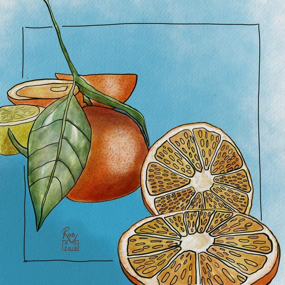 Watercolour Fruit #1 - image 1 - student project