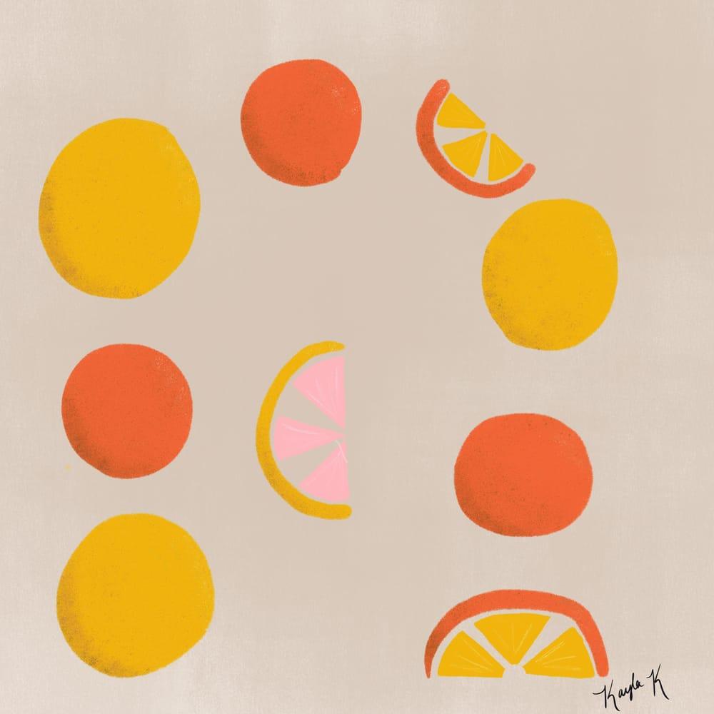 Orange and Lemons! - image 1 - student project