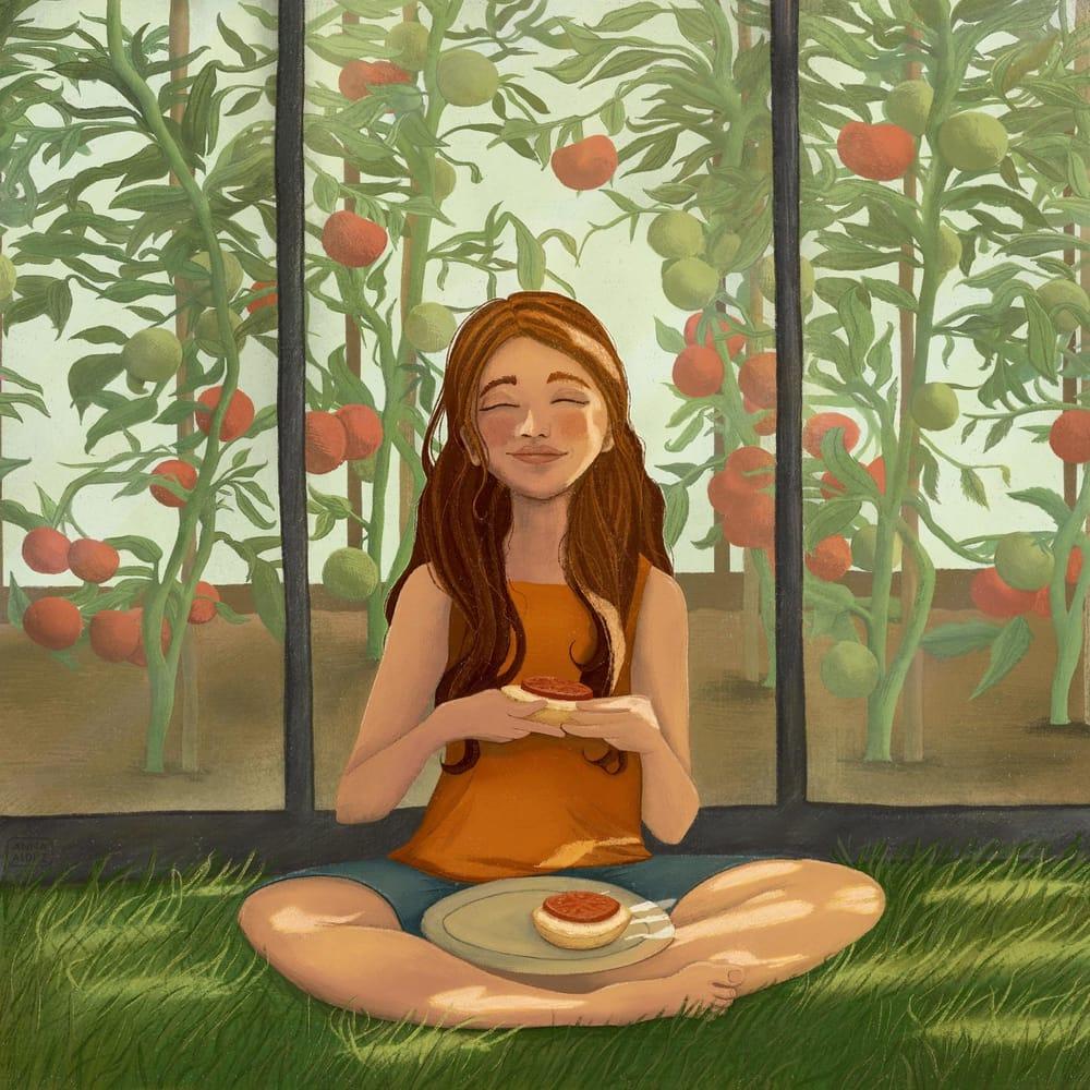 Illustration - Anna Aldüz - image 3 - student project