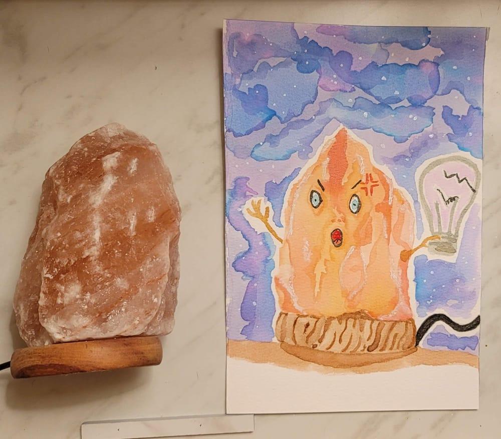 Beginner Watercolor Workshop - image 1 - student project