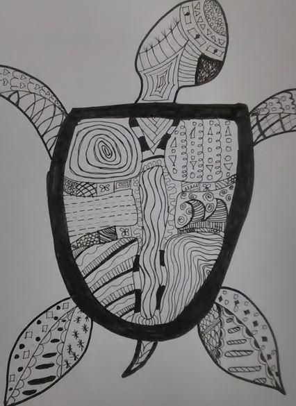 Abstract Turtle - image 2 - student project