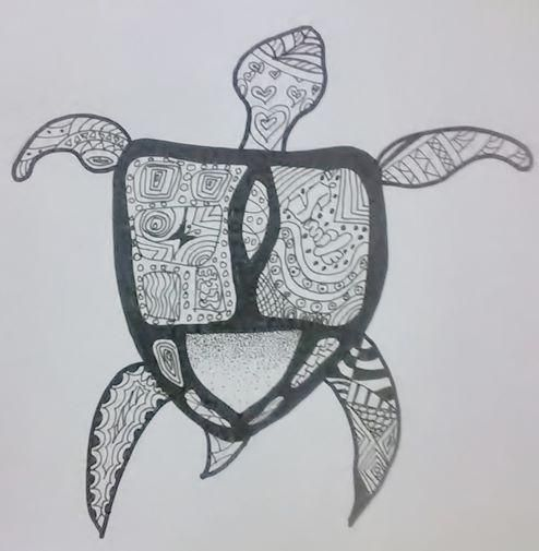 Abstract Turtle - image 1 - student project