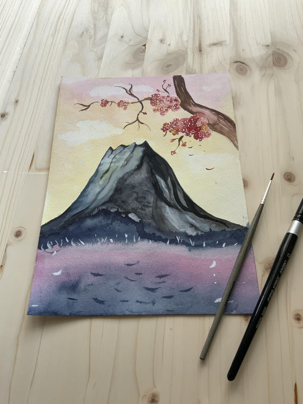Fun with Watercolors - image 5 - student project