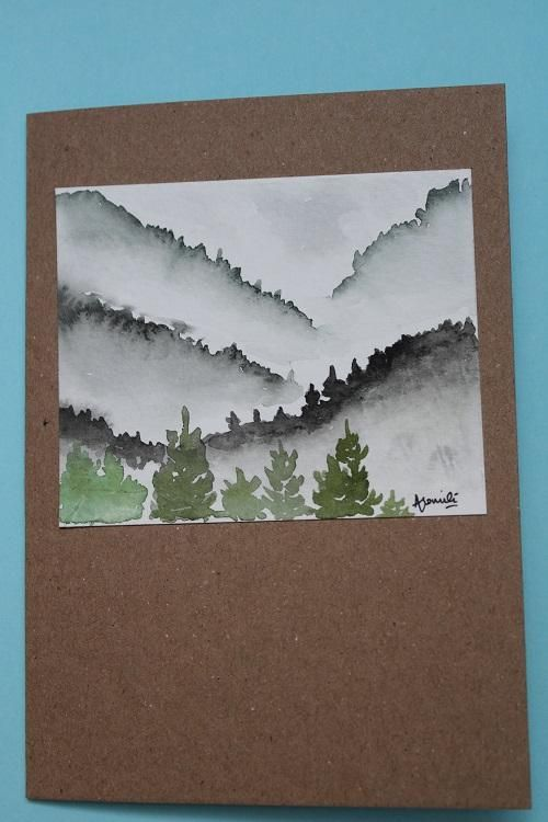 Hand painted cards - image 3 - student project