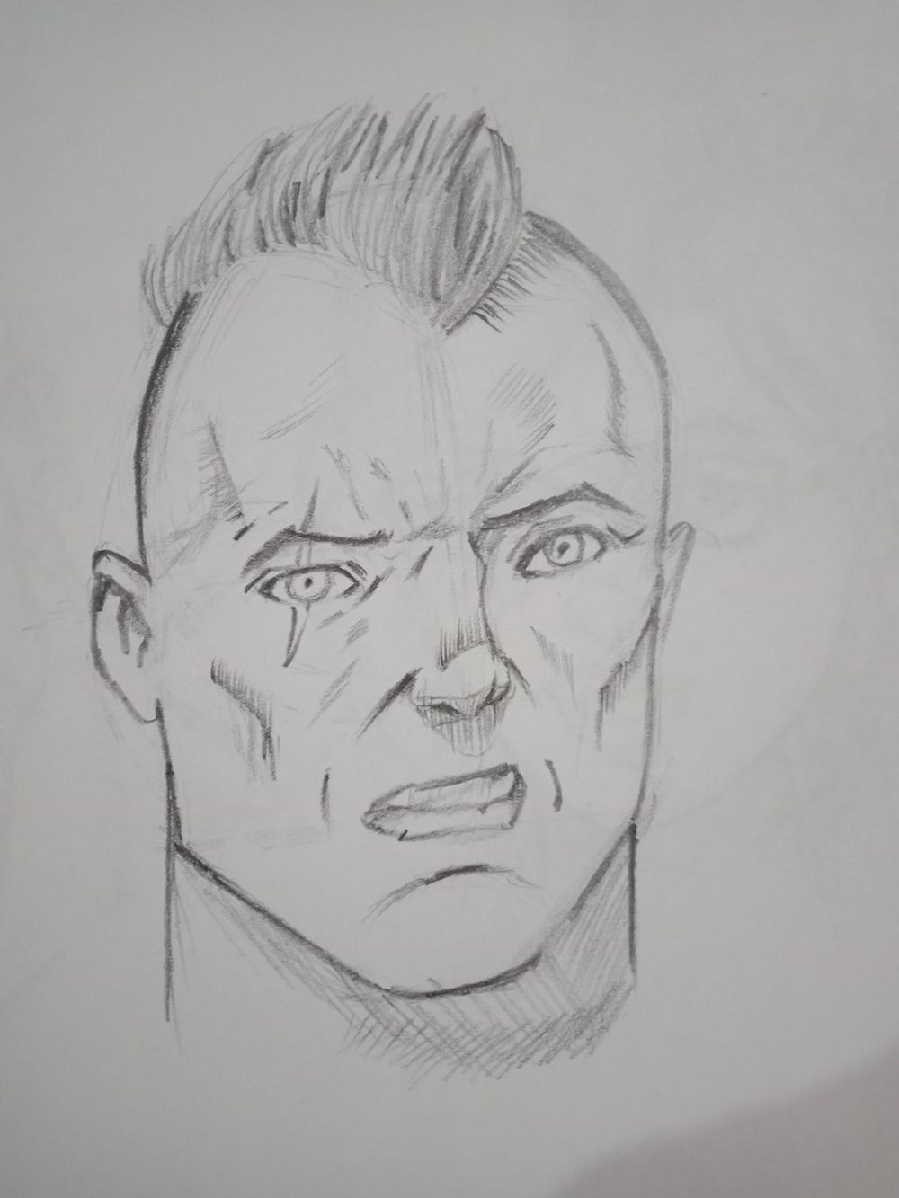 comic faces - image 2 - student project